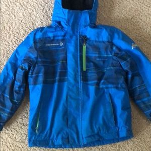 Warm fleece lined jacket